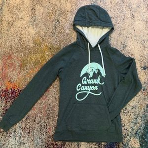 North face Grand Canyon hoodie M